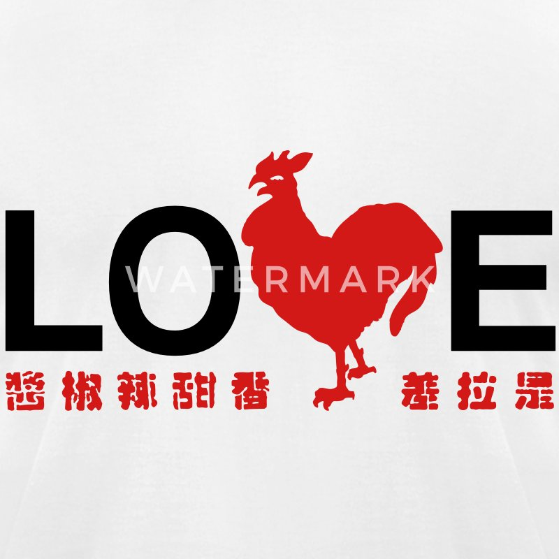 Love the Hot Cock T-Shirts - Men's T-Shirt by American Apparel