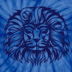 Lion's head with a proud lion's mane T-Shirts - Unisex Tie Dye T-Shirt