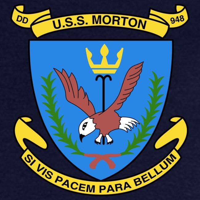 USS MORTON DD-948 CREST TSHIRT