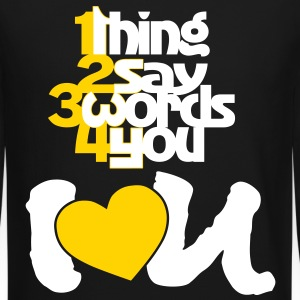 1234 I Love you - Crewneck Sweatshirt