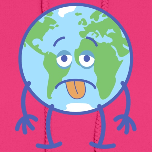 Poor Earth feeling exhausted
