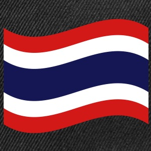 Thai Flag Wave Caps - Snap-back Baseball Cap