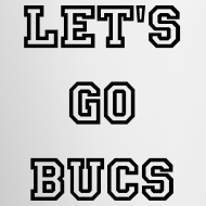 Design ~ Let's Go Bucs Mug