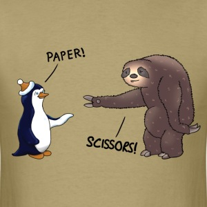 Sloth and Penguin T-Shirts - Men's T-Shirt