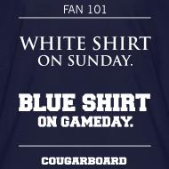 Design ~ Blue Shirt on Gameday Kids T-Shirt