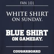 Design ~ Blue Shirt on Gameday Hoodie