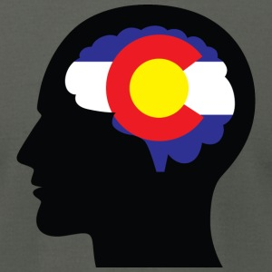 Colorado on the Mind T-Shirts - Men's T-Shirt by American Apparel
