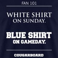 Design ~ Blue Shirt on Gameday T-shirt