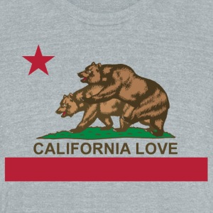 California Love - Unisex Tri-Blend T-Shirt by American Apparel