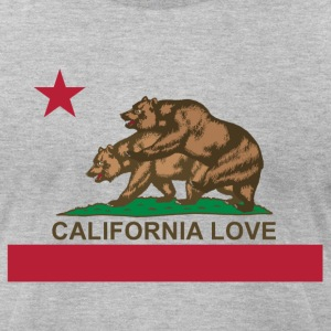 California Love - Men's T-Shirt by American Apparel