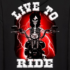 live to ride Hoodies