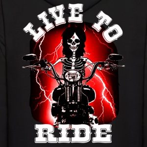 live to ride Hoodies - Men's Hoodie