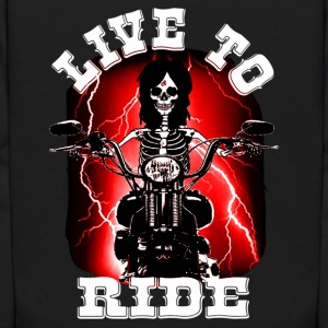 live to ride Sweatshirts - Kids' Hoodie