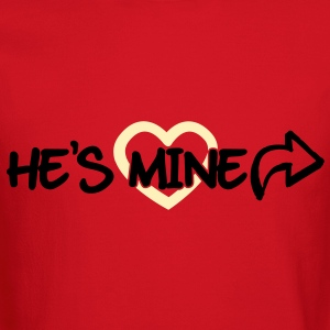 He's mine Long Sleeve Shirts - Crewneck Sweatshirt