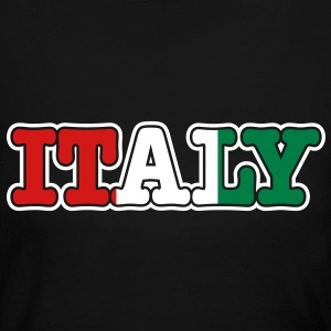 italy Long Sleeve Shirts - Women's Long Sleeve Jersey T-Shirt