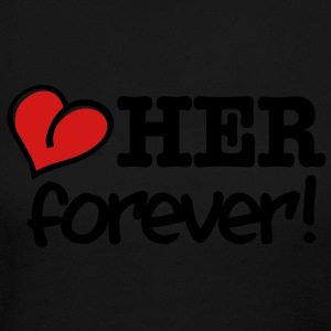 love her forever! Long Sleeve Shirts - Women's Long Sleeve Jersey T-Shirt