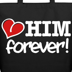 love him forever! Bags  - Eco-Friendly Cotton Tote