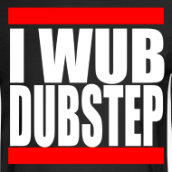 Design ~ I Wub Dubstep Men's Long Sleeve T-Shirt