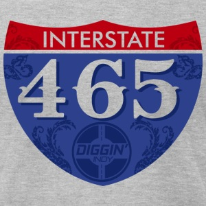 Interstate 465 - Men's T-Shirt by American Apparel
