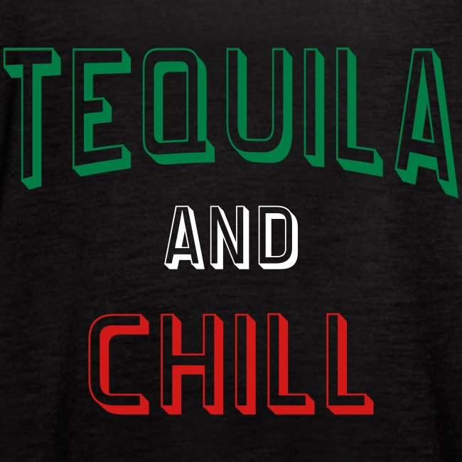 Tequila And Chill Womens Bella Flowy Tank Top