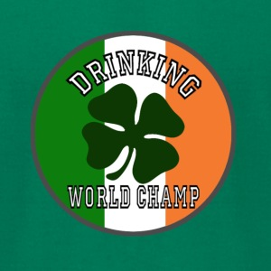 Drinking World Champ - For Saint Patrick's day - Men's T-Shirt by American Apparel