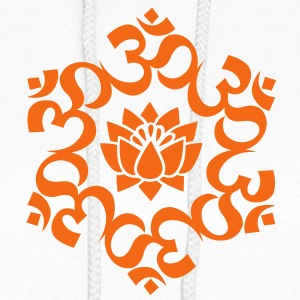OM Lotus, Meditation, Yoga, AUM, Buddhism Hoodies - Women's Hoodie