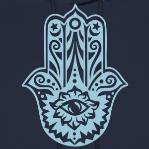 Hamsa Amulet, Hand of Fatima, Divine Protection Hoodies - Men's Hoodie