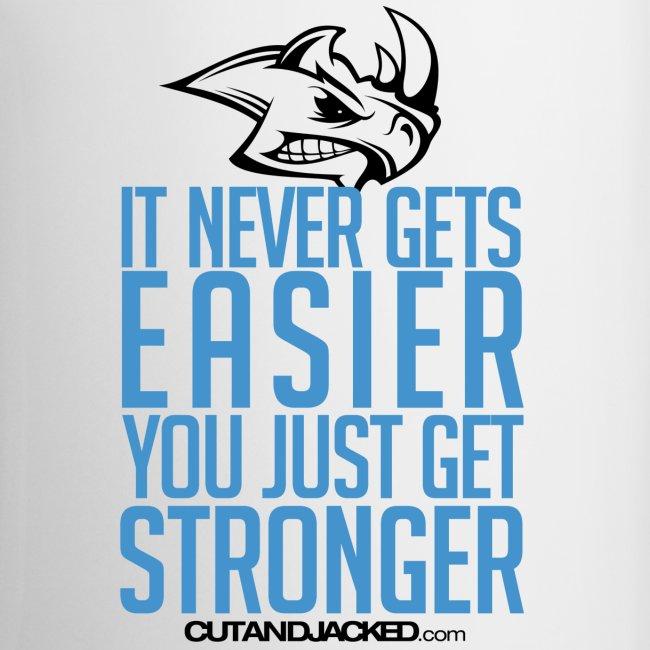 You just get stronger   Mug