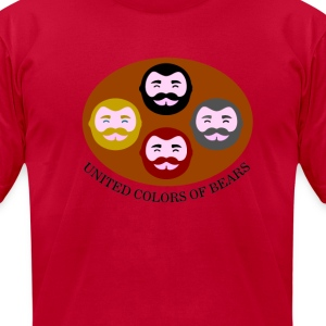 United colors of bears - Men's T-Shirt by American Apparel