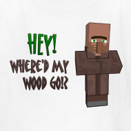 Design ~ Where'd My Wood Go!? - Kids Shirt