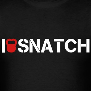 I Love Snatch T-Shirts - Men's T-Shirt