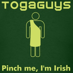 Toga for St Patrick's Day - Men's T-Shirt