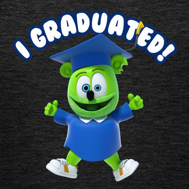 I Graduated! Kids Hoodie Gummibär (The Gummy Bear)