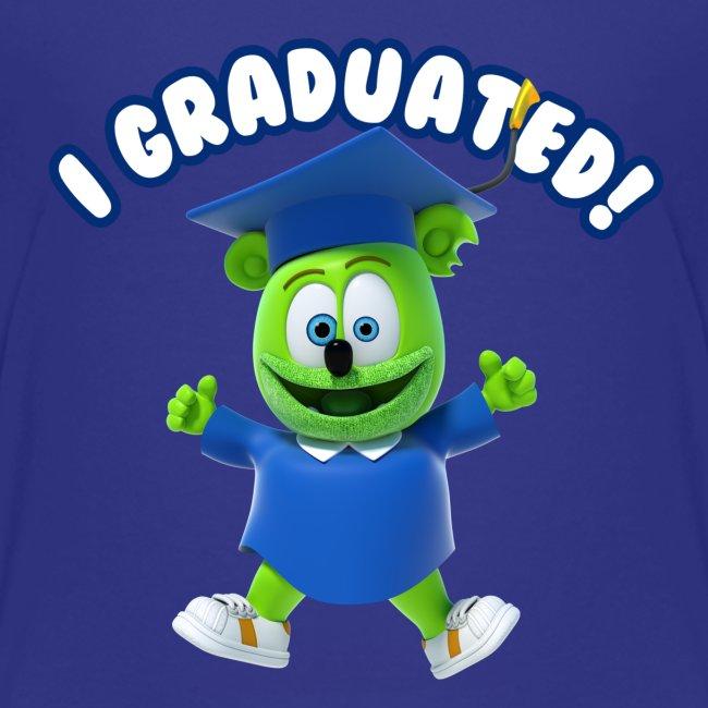 I Graduated! Kids T-Shirt Gummibär (The Gummy Bear)