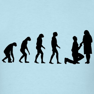 Evolved to Engagement T-Shirts - Men's T-Shirt