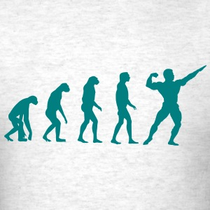 Evolved to Bodybuilding T-Shirts - Men's T-Shirt