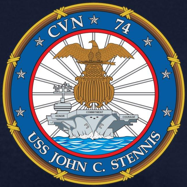 USS JOHN C STENNIS 2018-19 WORLD CRUISE SHIRT - WOMENS