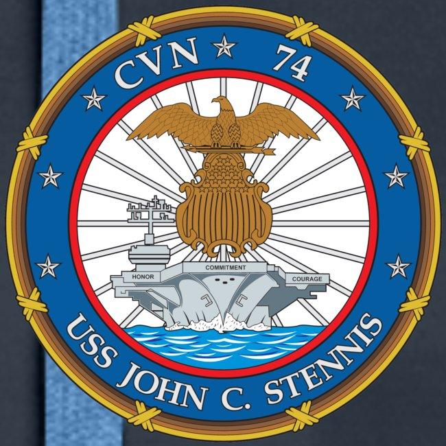 USS JOHN C STENNIS 2018-19 WORLD CRUISE HOODIE - WOMENS