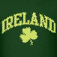 Design ~ Lime Sparkle Ireland T-Shirt
