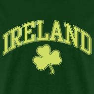 Design ~ Lime Sparkle Ireland T-Shirt
