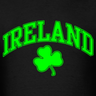 Design ~ Neon Green/Black Ireland T-Shirt
