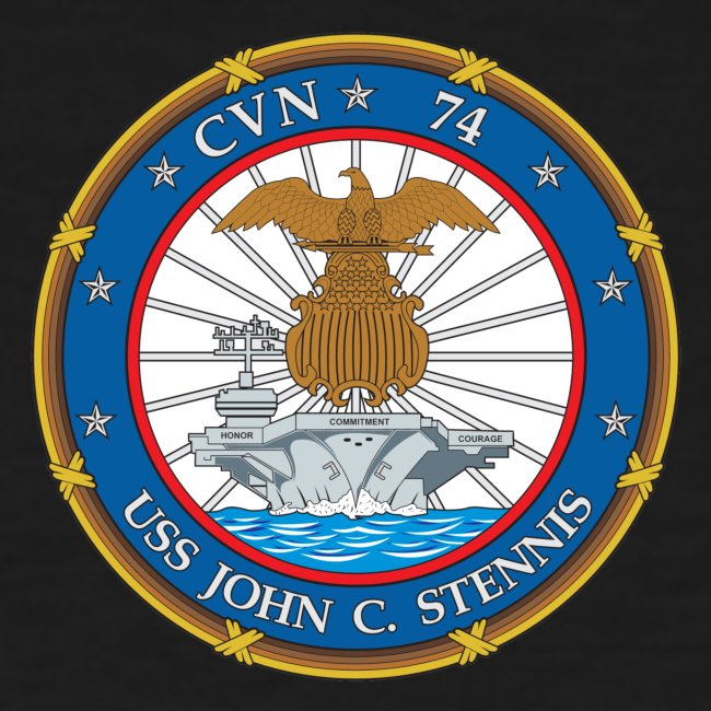 USS JOHN C STENNIS 2018-19 WORLD CRUISE SHIRT - WOMENS FAMILY VERSION
