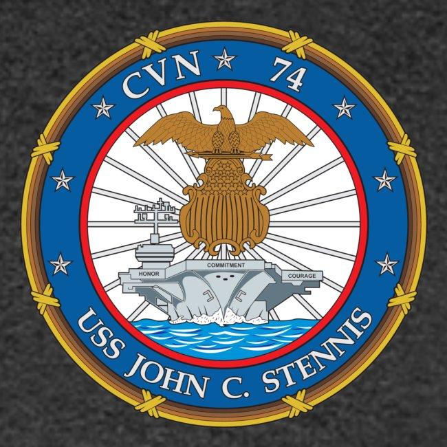 USS JOHN C STENNIS 2018-19 WORLD CRUISE SHIRT - FAMILY VERSION
