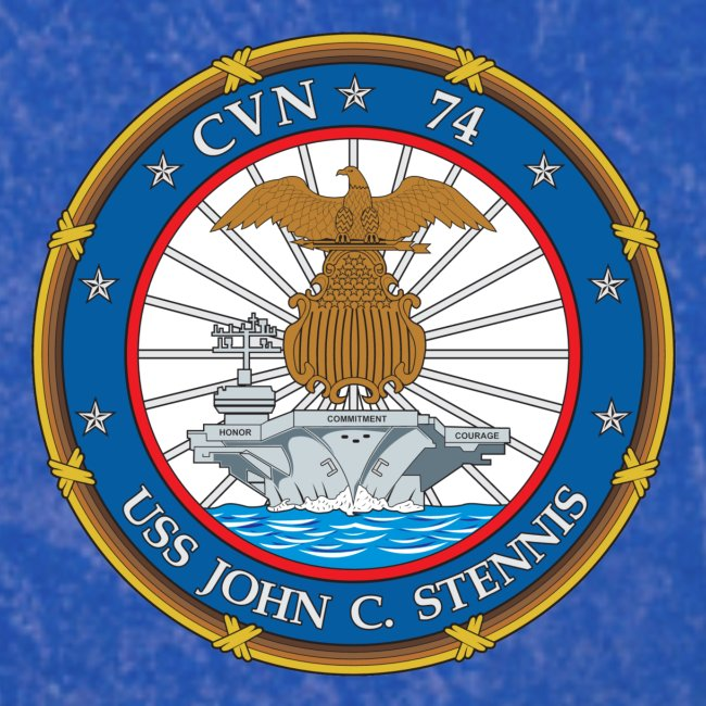 USS JOHN C STENNIS 2018-19 WORLD CRUISE SHIRT - FAMILY VERSION