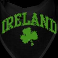 Design ~ Green Glitter Ireland Dog Hankie