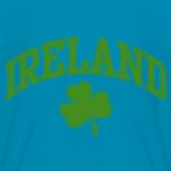 Design ~ Glitter Green Ireland Kids T-Shirt
