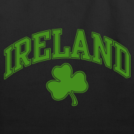 Design ~ Green Sparkle Ireland Tote Bag