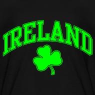 Design ~ Neon Green Ireland Kids T-Shirt