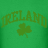 Design ~ Glitter Green Ireland T-Shirt