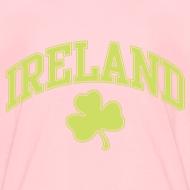 Design ~ Shimmer Lime Green Ireland Kids T-Shirt